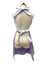 Simple Violet Hostess Apron, Apron - www.thestoneflower.com