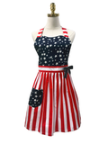 Stars & Stripes Hostess Apron, Apron - www.thestoneflower.com