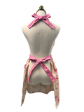 Pink Floral Hostess Apron, Apron - www.thestoneflower.com