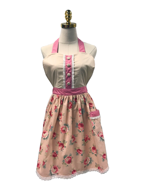 French Cooking  Double-Layered Apron
