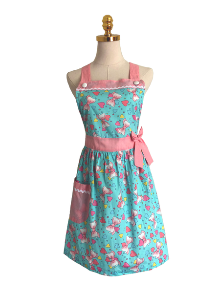 Pretty in Pink Triple-Layered Apron