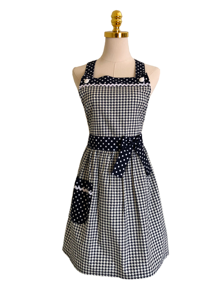 Cute Stripe French Cooking Apron