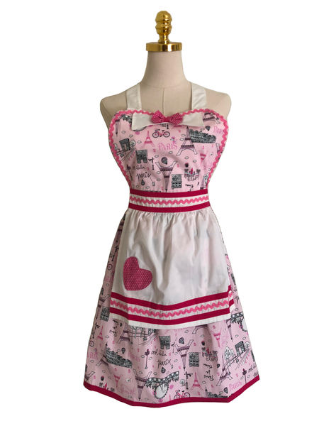 Coffee Break Pink Sassy Apron