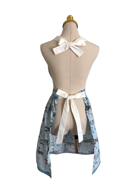 French Cooking  Double-Layered Apron, Apron - www.thestoneflower.com