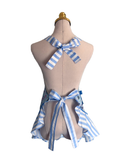 Cute Stripe French Cooking Apron, Apron - www.thestoneflower.com
