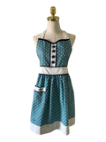 Lovely Polka Dot Apron, Apron - www.thestoneflower.com
