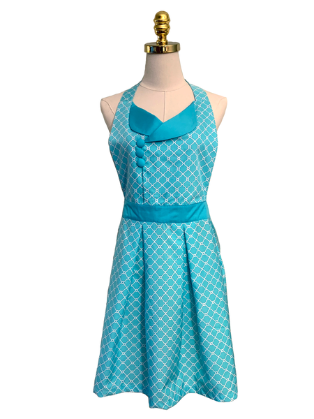Cute Turquoise with side Ruffles