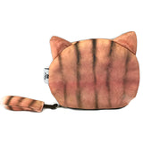 Gold Tabby Cat Pouch