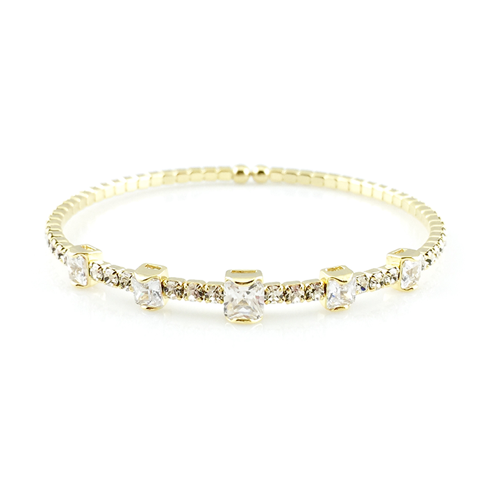york lewis kate main hinged gold bracelet com pdp online johnlewis buykate rsp spade new stone bangle at john glass