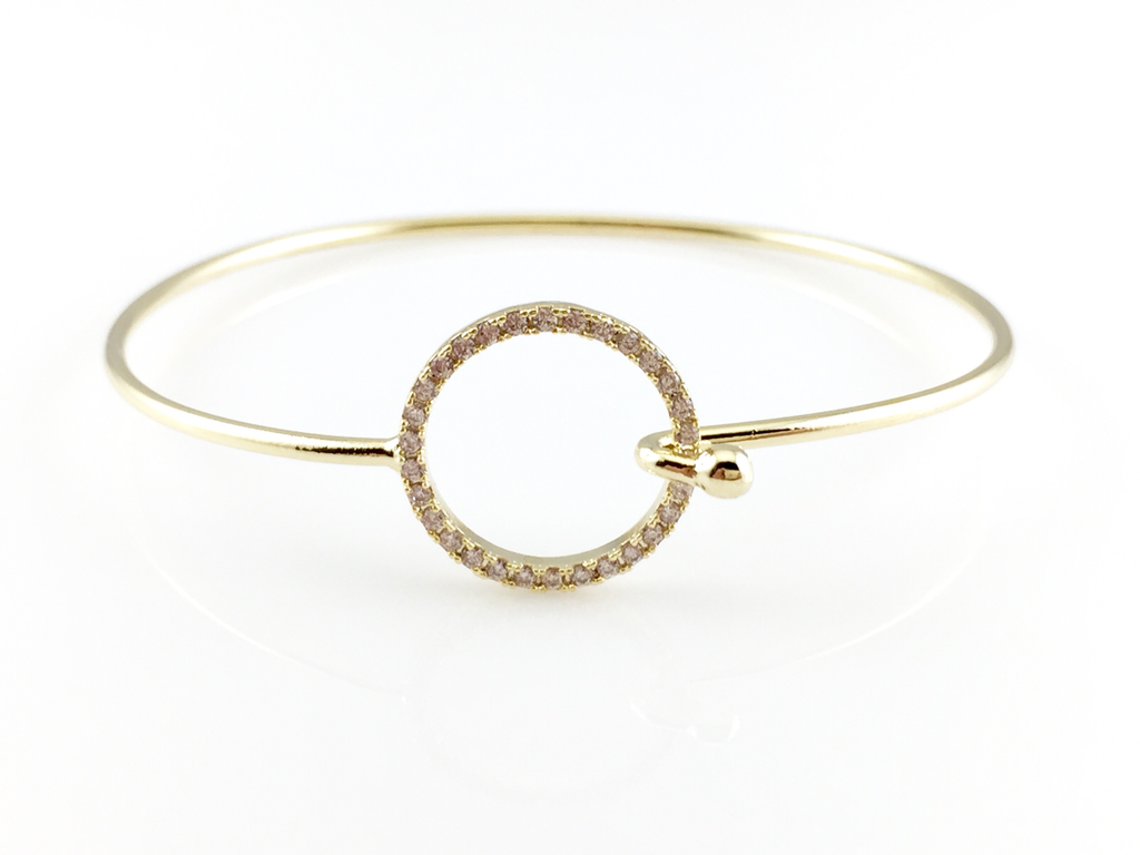 karma daintyedgejewellery dainty by edge hollow original bracelet product notonthehighstreet com jewellery
