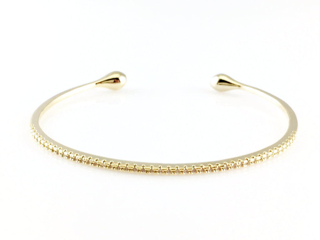 rose bangles bangle bracelets gold shiny of finish with ani a everyday is alex stones and set gift