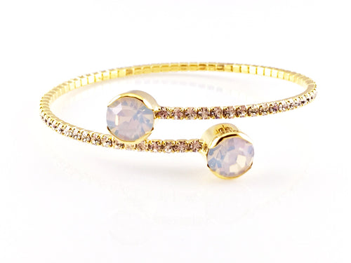 Beautiful Gold Bangle Bracelet, Bracelets - www.thestoneflower.com