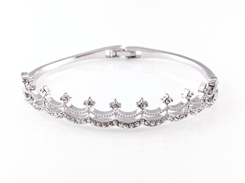stones bracelets bangles of and bangle ani set snowflake finish rafaelian alex with silver