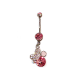 Candy Bling Belly Ring, Belly Rings - www.thestoneflower.com