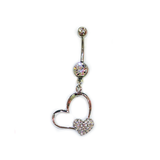 Love Link Belly Ring, Belly Rings - www.thestoneflower.com