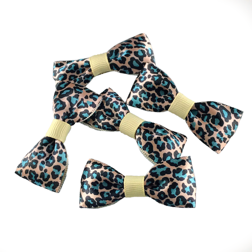 Animal Printed Mini Bow, Hair Accessories - www.thestoneflower.com