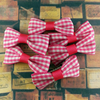Red Mini Bow, Hair Accessories - www.thestoneflower.com