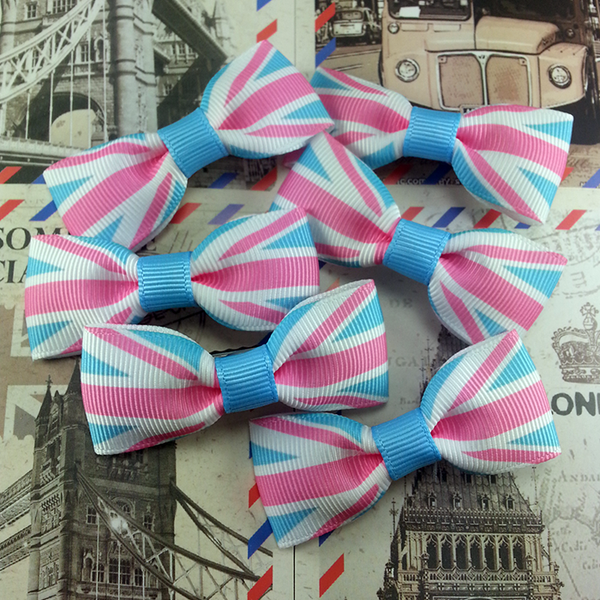 Travel to London Mini Bow, Hair Accessories - www.thestoneflower.com