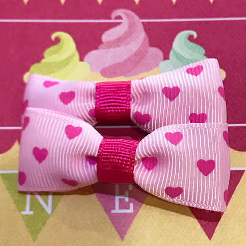 Sweetheart Mini Bow, Hair Accessories - www.thestoneflower.com