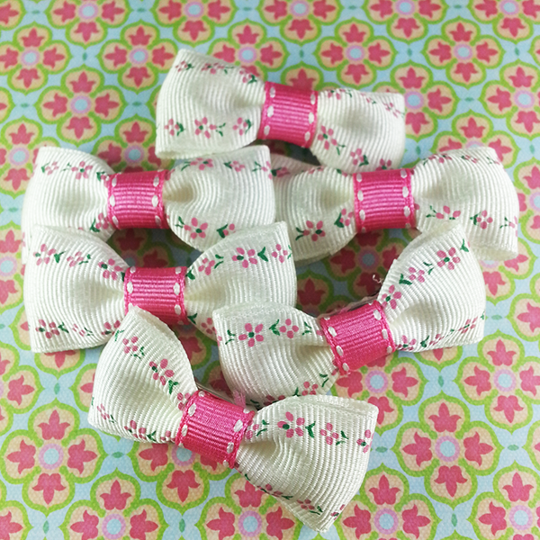 Girly Mini Bow, Hair Accessories - www.thestoneflower.com