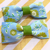 Spring Garden Mini Bow, Hair Accessories - www.thestoneflower.com