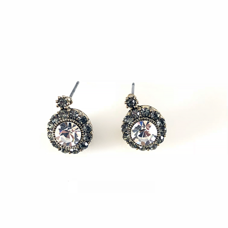 Crystal Linear Post Earrings