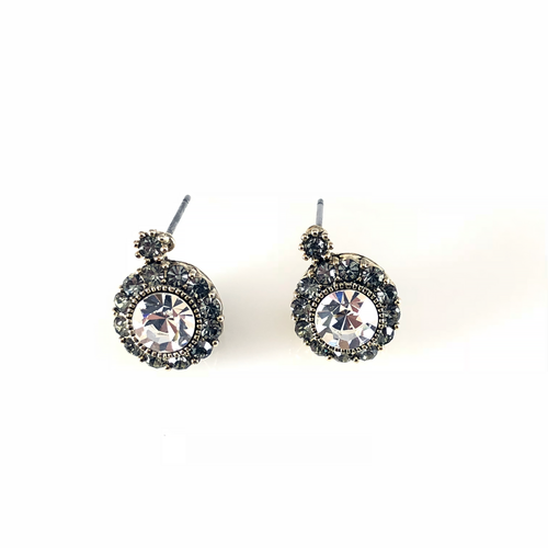 Vintage Diamond Post Earrings, Earrings - www.thestoneflower.com