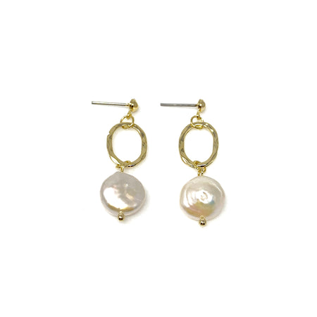 Crystal Crab Post Earrings