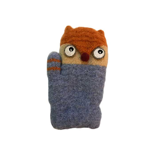 Foxy Children Knitted Wool Mittens, Clothing - www.thestoneflower.com