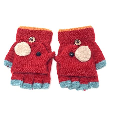 Cute Touchscreen Knitted Gloves