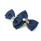 Double Bows Hair Clip, Hair Accessories - www.thestoneflower.com