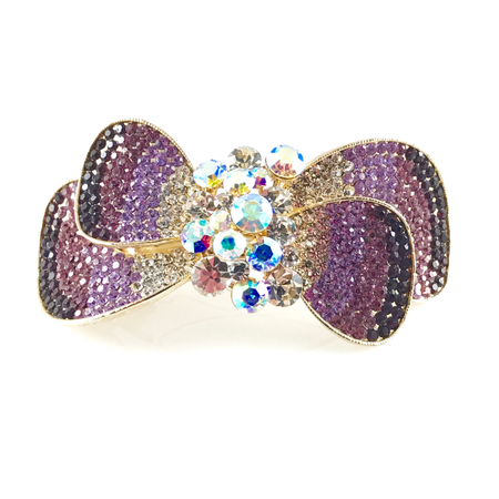 Butterfly Crystals Hair Claws