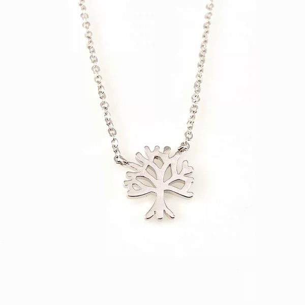 Tree Charm Necklace, Necklaces - www.thestoneflower.com