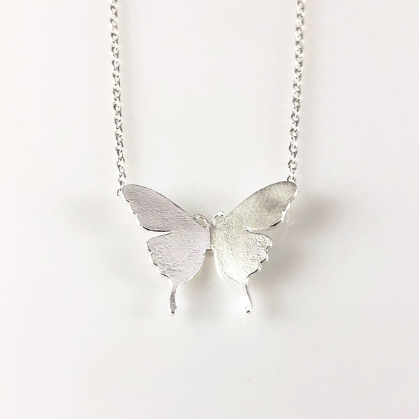 Butterfly Charm Necklace, Necklaces - www.thestoneflower.com