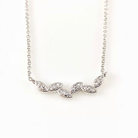 Flirting Birds Charm Necklace