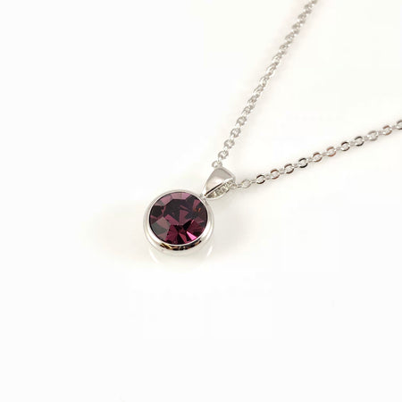 Cubic Spider Charm Necklace