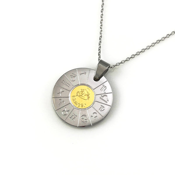 Cancer Zodiac Pendant Necklace, Necklaces - www.thestoneflower.com