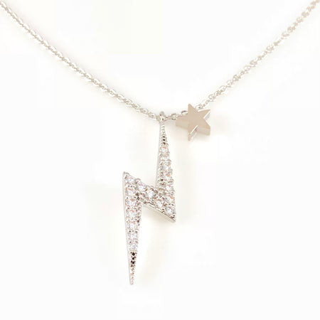 Crystal Flowers Pendant Necklace