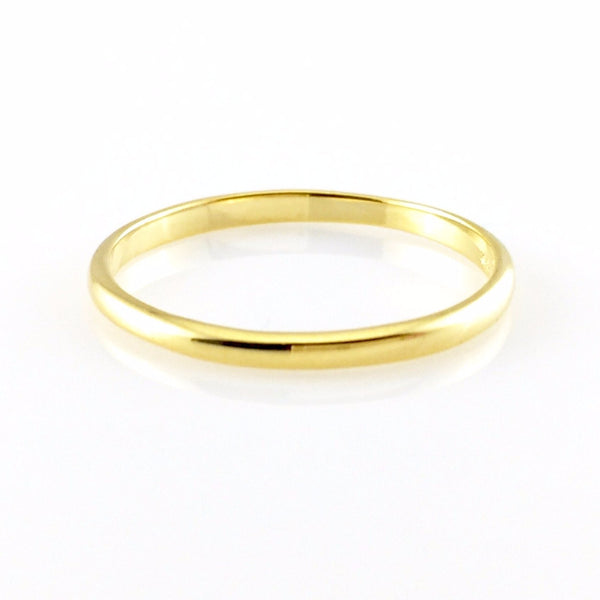 Simple Promise Ring, Rings - www.thestoneflower.com