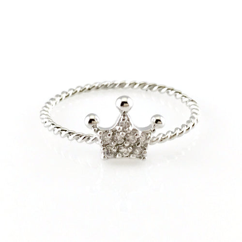 Crown Ring, Rings - www.thestoneflower.com