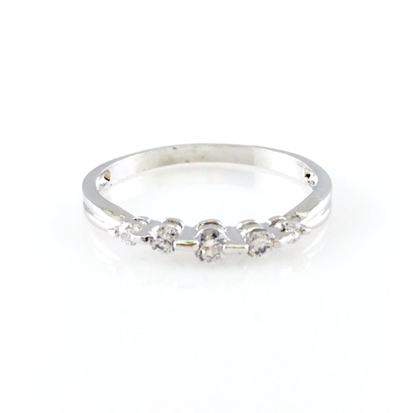 Simple Round Ring, Rings - www.thestoneflower.com