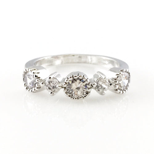 Crystal Circle Ring, Rings - www.thestoneflower.com