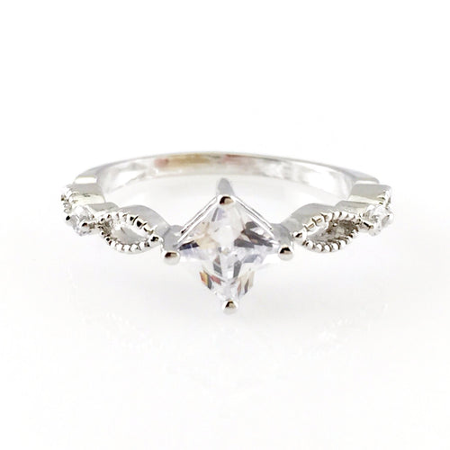 Classic Crystal Ring, Rings - www.thestoneflower.com
