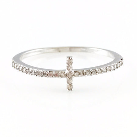 Crystal Open Ring