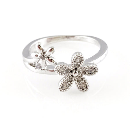 Clear CZ Bangle Bracelet