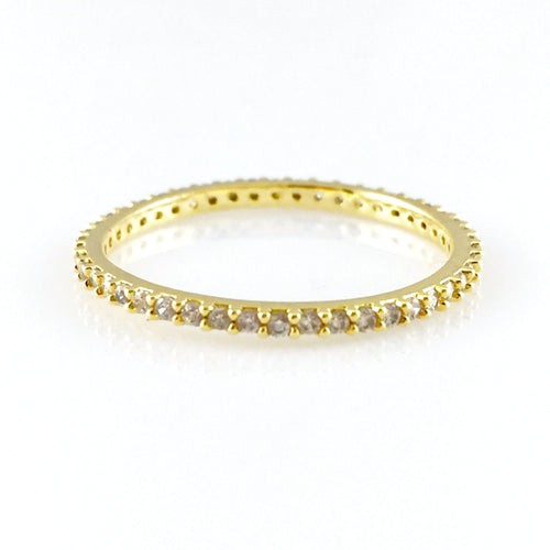 Classic Gold Stackable Ring, Rings - www.thestoneflower.com