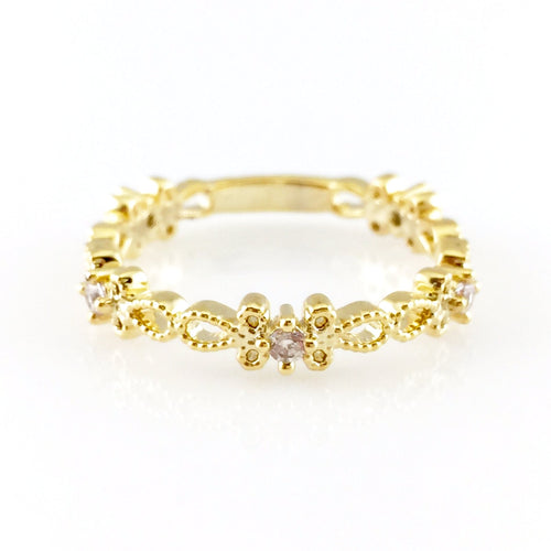 Cute Gold Ring, Rings - www.thestoneflower.com