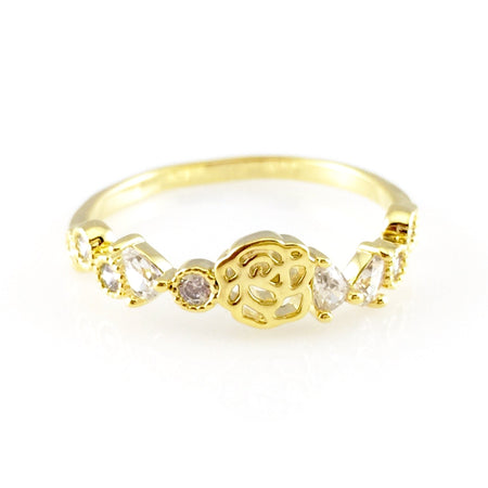 Crystal Stackable Ring