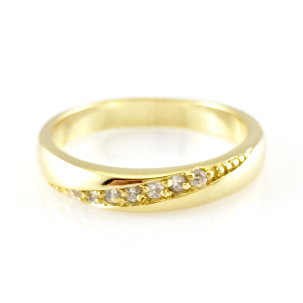 Classic Promise Ring, Rings - www.thestoneflower.com