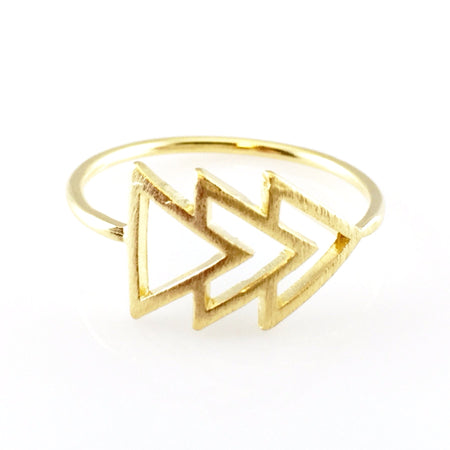 Dimond Shape Crystal Ring